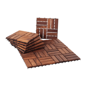 Teak Interlocking Tiles