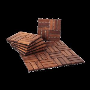 Teak Interlocking Tiles
